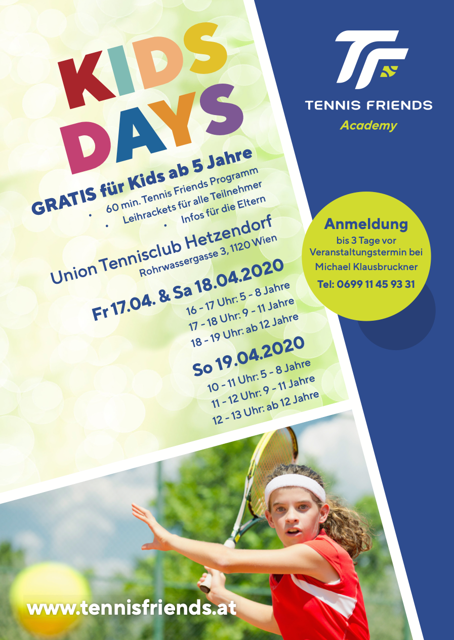 Flyer Kids Days Hetzendorf